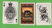 Collectible Advertising shipping lines playing cards P. & O. Eastern Highway